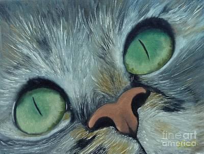 Denise's Cat Jasmine Art Print