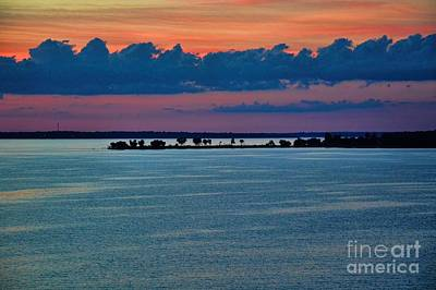 Photograph - Denison Island Sunset by Diana Mary Sharpton