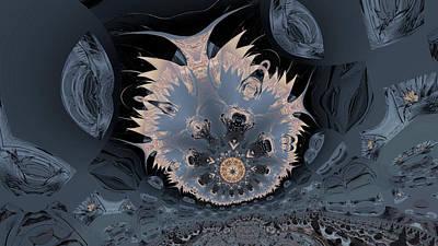 Digital Art - Denizen Of The Deep 11 by Claude McCoy