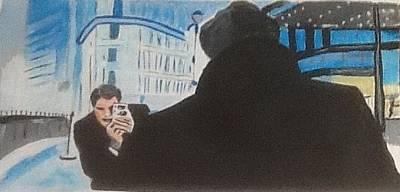 Painting - Dennis by Audrey Pollitt