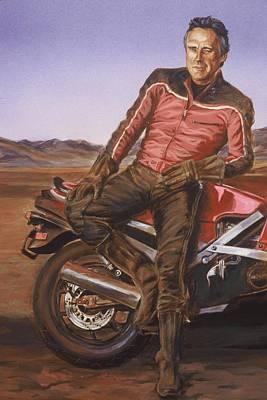 Dennis Hopper Art Print by Bryan Bustard