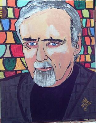 Dennis Hopper Art Print by Jeffrey Foti