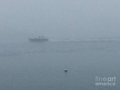 Photograph - Dense Fog On The Bay by Patricia E Sundik
