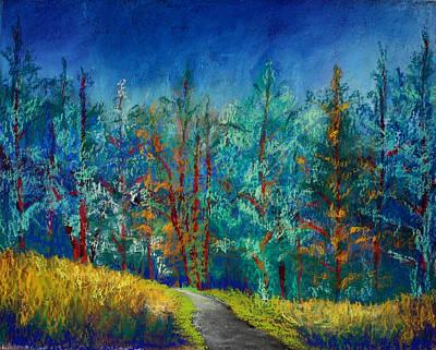 Painting - Dense Forest by Karin Eisermann