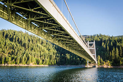 Photograph - Dent Bridge by Brad Stinson