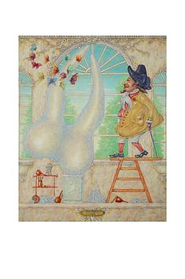 Phantasie Painting - Dentaler Bildhauer by Marcin Stec