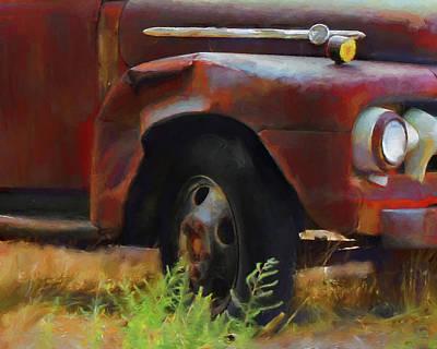 Digital Art - Dented by David King