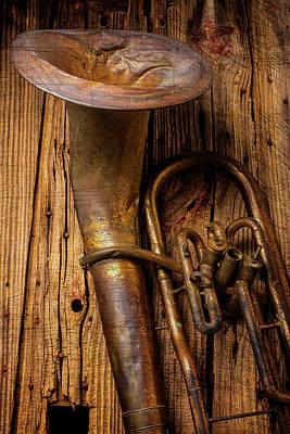 Dented Tuba Art Print by Garry Gay