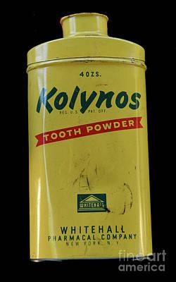 Photograph - Dentist-kolynos Tooth Powder by Paul Ward