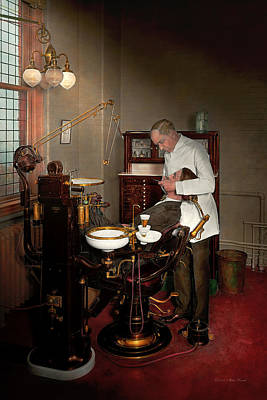 Photograph - Dentist - Roy O Woodruff Dentist 1924 by Mike Savad