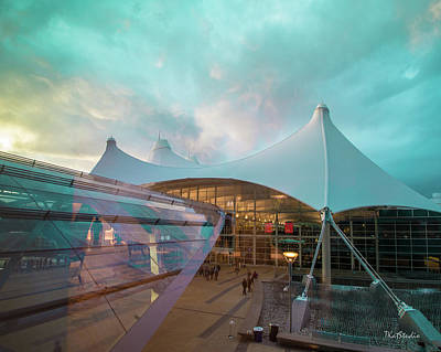Denver International Airport Art Print