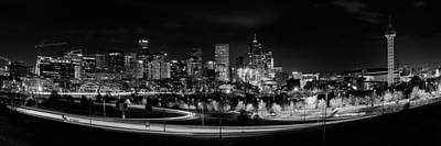 Denver Skyline Photograph - Denver Afterdark by Darren White