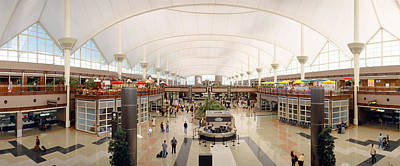 Interior Scene Photograph - Denver Airport, Colorado by Panoramic Images