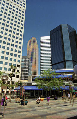 Photograph - Denver Architecture by Frank Romeo