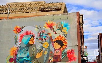 Photograph - Denver Art Street by Anjanette Douglas