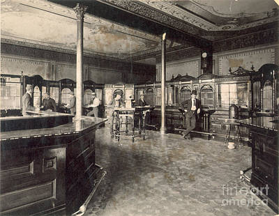 Photograph - Denver Bank, C1890 by Granger