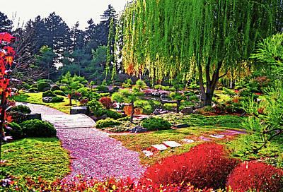 Denver Botanical Gardens 1 Art Print by Steve Ohlsen