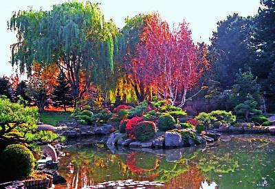 Denver Botanical Gardens 3 Art Print by Steve Ohlsen