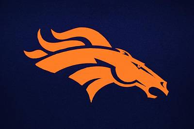 Photograph - Denver Broncos by Christopher James