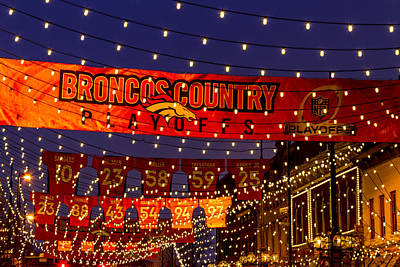 Photograph - Denver Broncos Country by Teri Virbickis