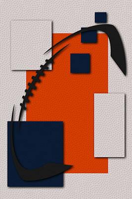 Denver Broncos Football Art Art Print by Joe Hamilton
