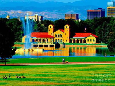 Photograph - Denver City Park by Christine S Zipps