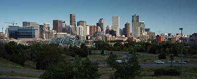 Denver Co Skyline Art Print by Steve Gadomski