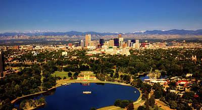 Photograph - Denver Colorado by Loc