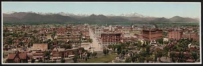 Denver, Colorado, Photochrom By William Art Print by Everett