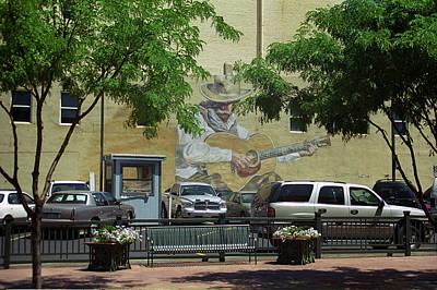 Denver Cowboy Parking Art Print
