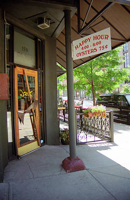 Art Print featuring the photograph Denver Happy Hour by Frank Romeo