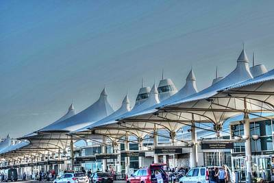 Photograph - Denver International Airport - 2 by David Bearden