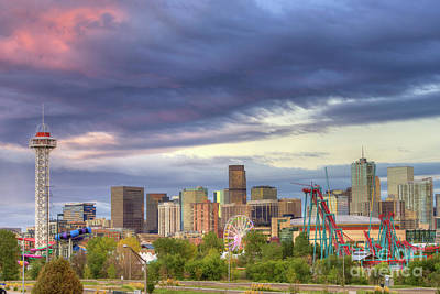 Denver Skyline Photograph - Denver by Juli Scalzi