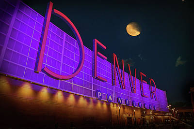 Photograph - Denver Pavilion At Night by Kristal Kraft