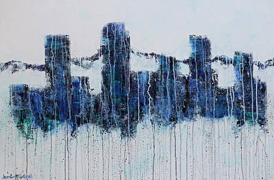 Painting - Denver Rain by Jennifer Morrison Godshalk
