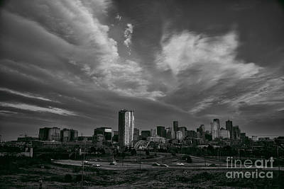 Photograph - Denver Skyline by Kristal Kraft