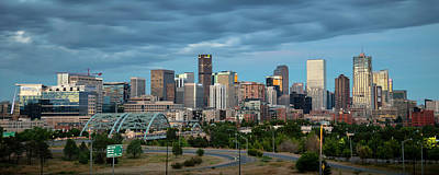 Photograph - Denver Skyline by Ryan Heffron