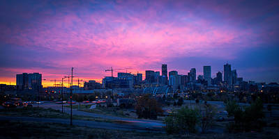 Photograph - Denver Sunrise At Speer by Daniel Lowe