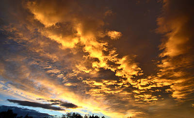 Photograph - Denver Sunrise by Ray Mathis