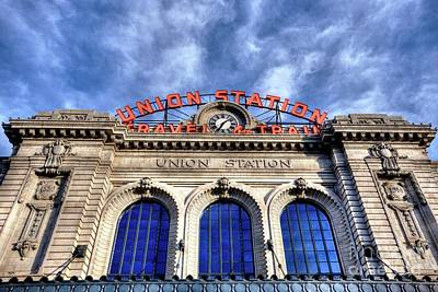 Photograph - Denver Trains by David Bearden
