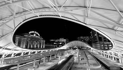 Photograph - Denver Union Station 1 by Stephen Holst