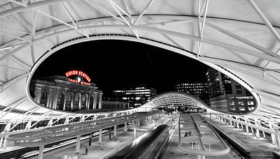 Photograph - Denver Union Station 2 by Stephen Holst