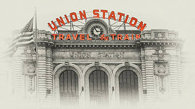 Photograph - Denver Union Station 2 by Susan Rissi Tregoning