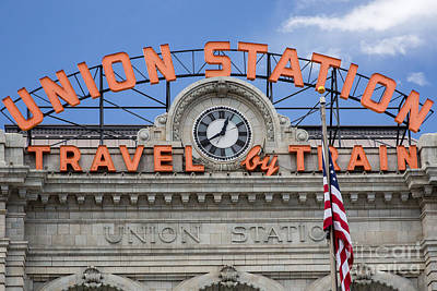 Photograph - Denver Union Station by Jim West