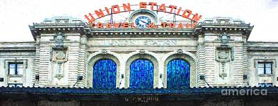 Painting - Denver Union Station by Steven Parker