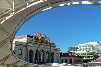 Photograph - Denver Union Station by Teri Virbickis