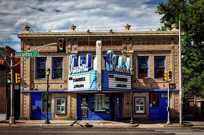 Denver's Historic Bluebird Theatre Art Print by Mountain Dreams