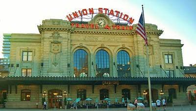 Photograph - Denver's Union Station #1 by Christopher James