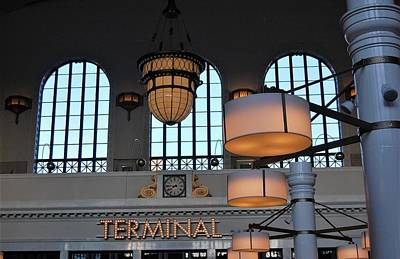 Photograph - Denver's Union Station Terminal by Christopher James