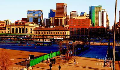 Photograph - Denverscape II by Christine Zipps